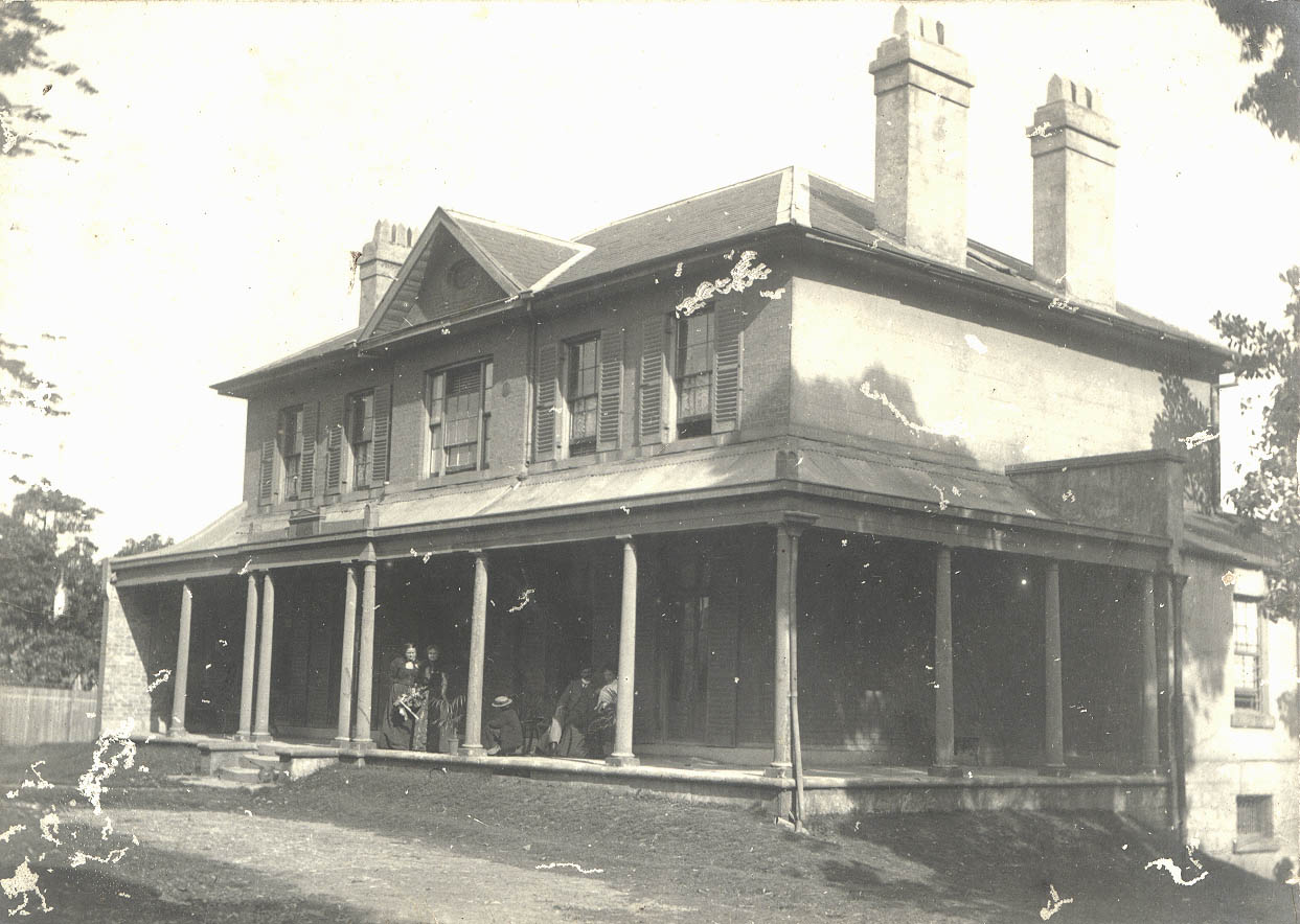 Stanmore House, Enmore, NSW, ca.1900 / photographer unknown