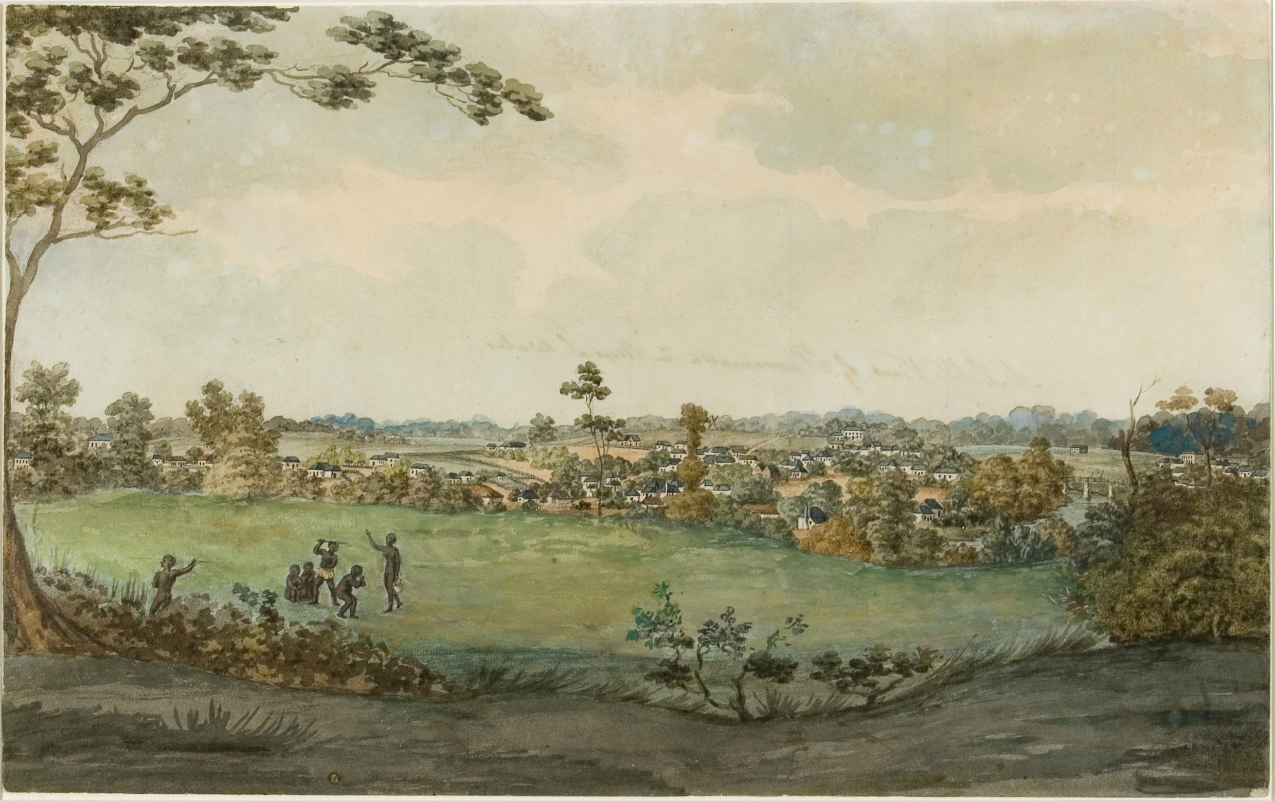 South west view of Parramatta in New South Wales 1811 / artist unknown