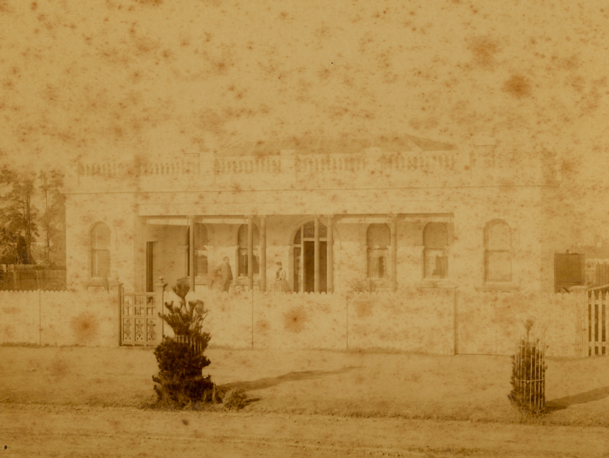 Reliance, Johnston Street Annandale, the home of Alfred Vandyke, ca.1887 / Charles Bayliss