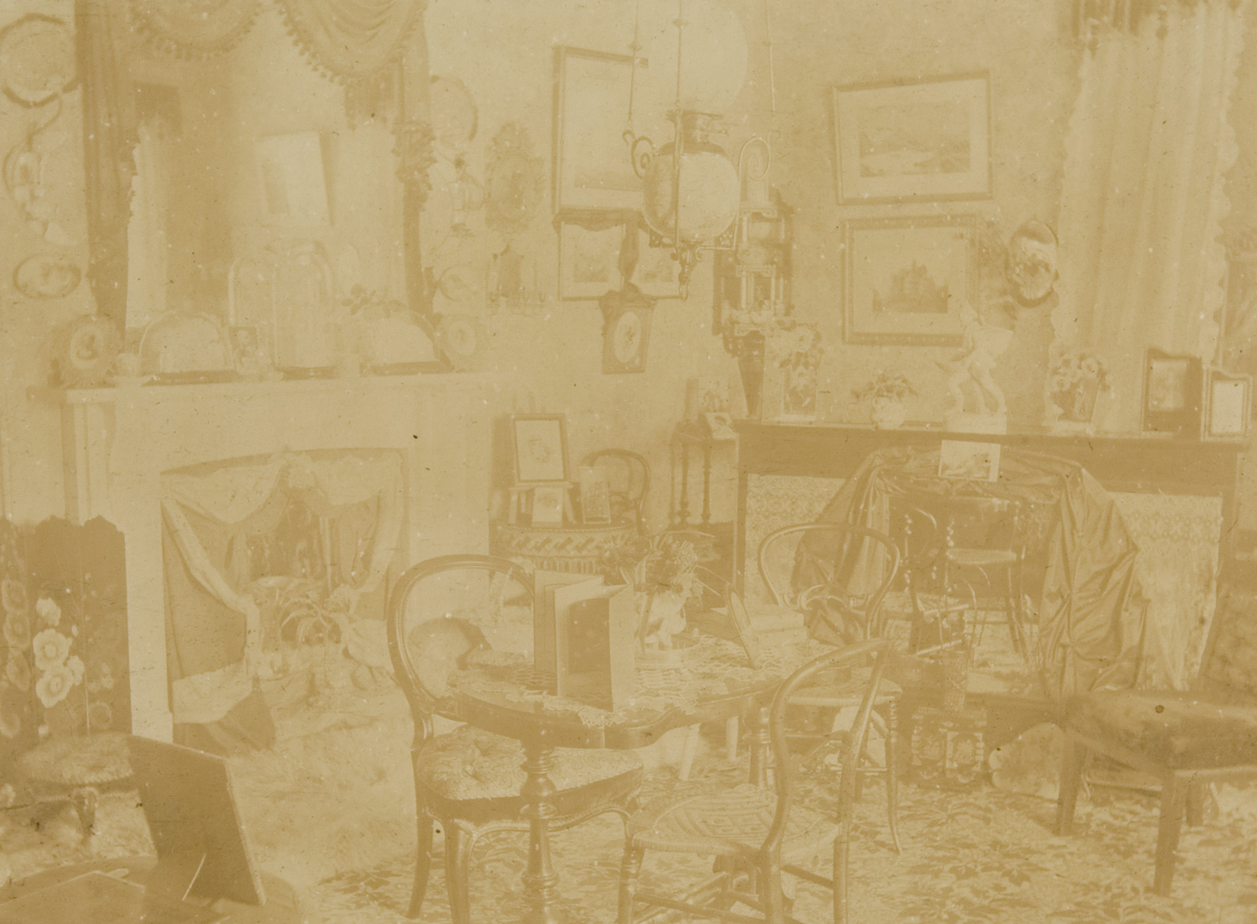 Drawing room, Rouse Hill House, Rouse Hill, 1894 / Dudley Eugene Batty