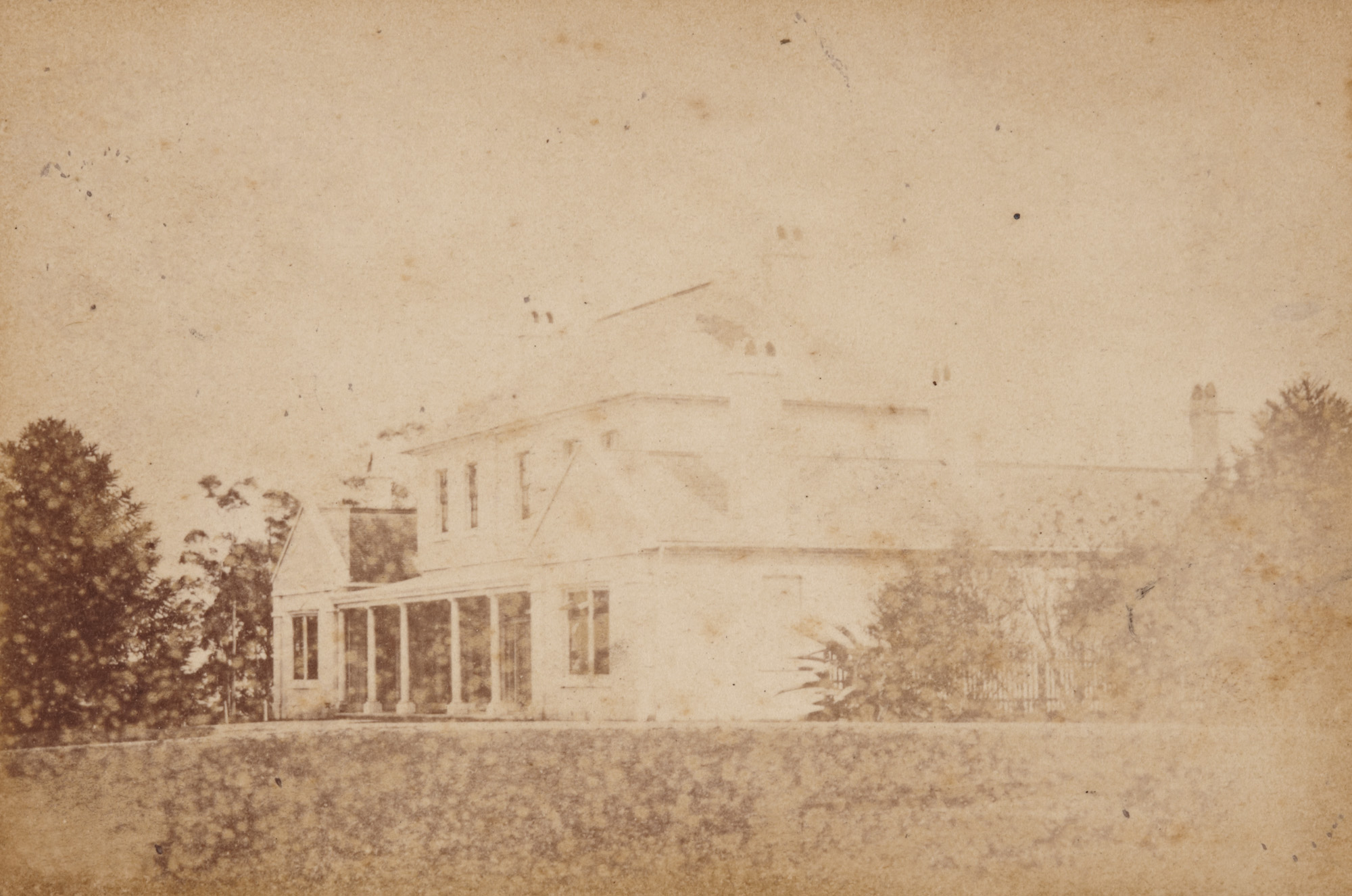 Crows Nest House, North Sydney, c1869 / Victor A. Prout