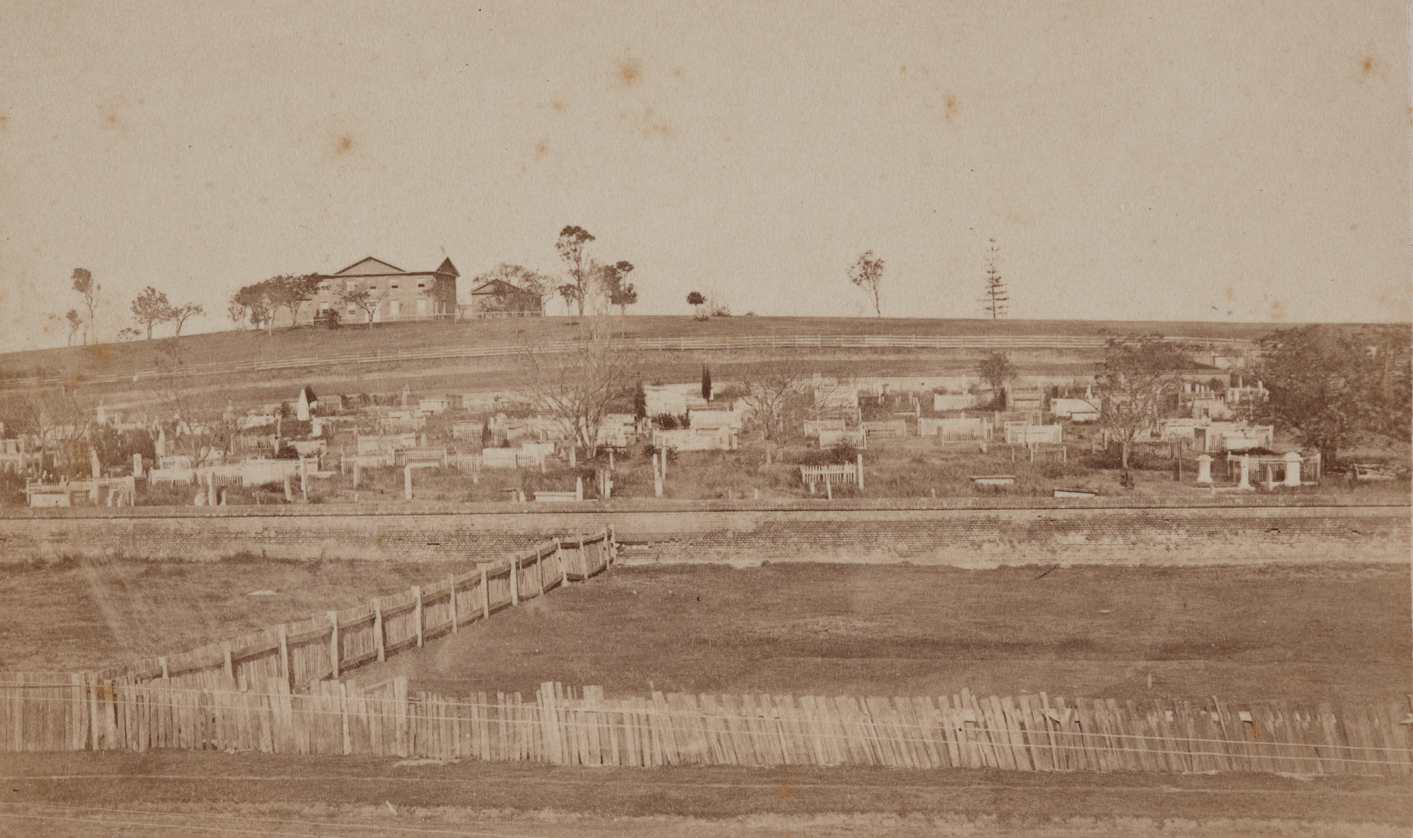 St John's Cemetery, Parramatta, around July 1870 / American and Australasian Photographic Company