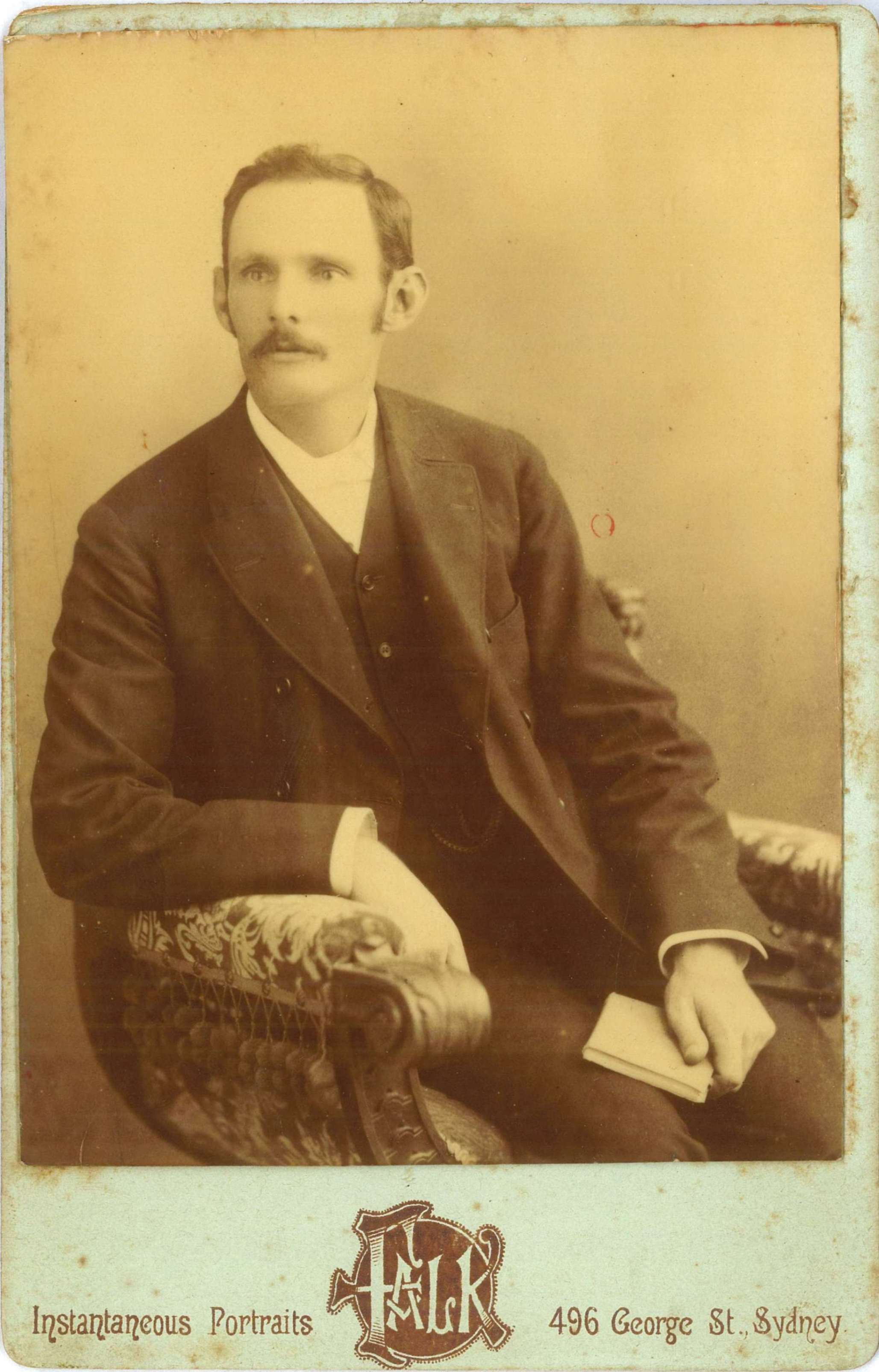 James Thomas Thorburn, around 1888 / Falk Studios