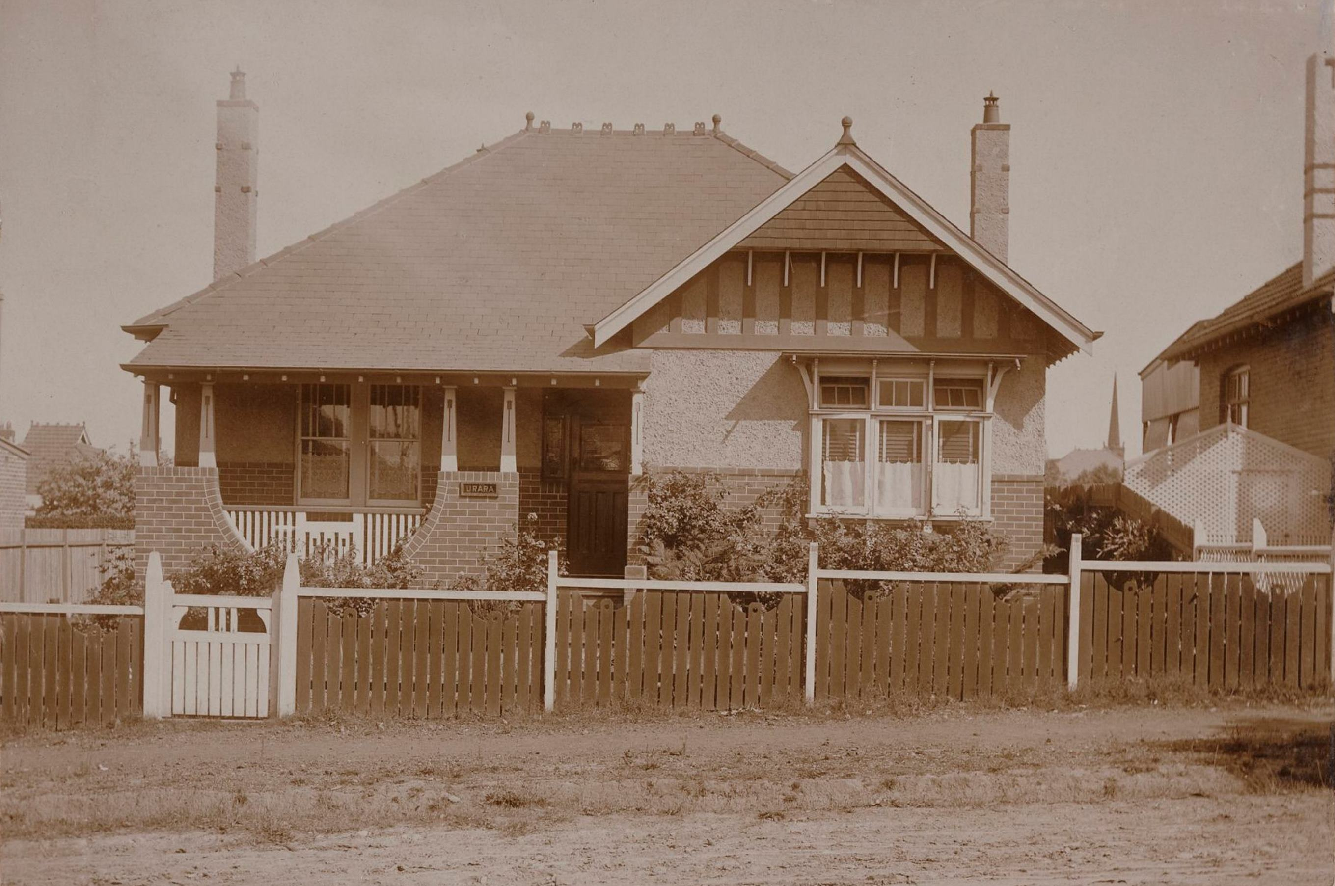 Urara, 163 Bland Street, Haberfield, N.S.W. around 1913 / photographer unknown